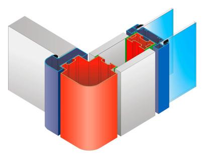 Dibujos técnicos de perfiles de aluminio